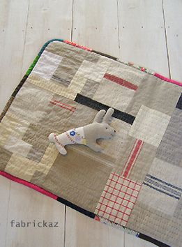 play mat out of old dish cloths fabrickaz+idees