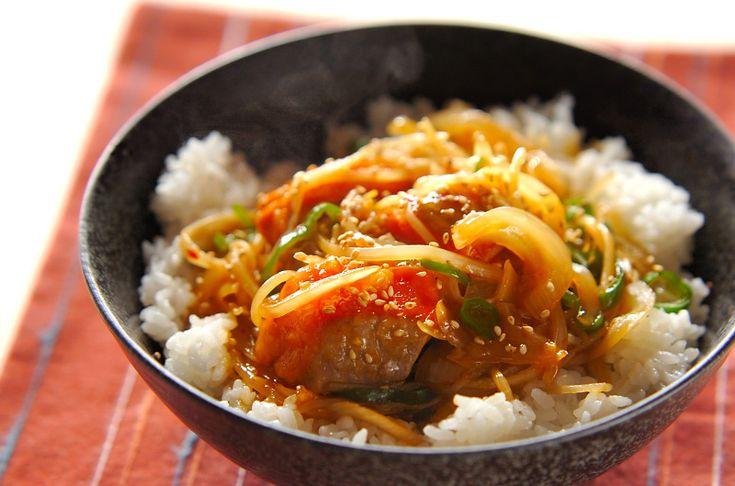 鮭のピリ辛丼のレシピ・作り方 - 簡単プロの料理レシピ   E・レシピ