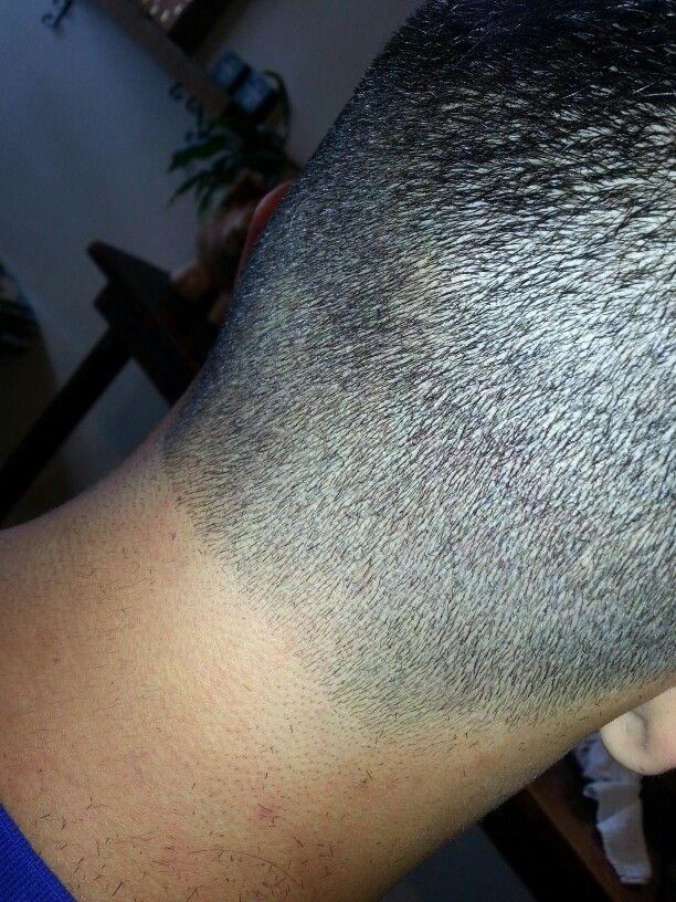 Nice tapered hair line