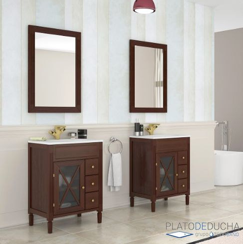 114 best muebles de ba o images by platodeducha on pinterest bathroom furniture design - Muebles de bano diferentes ...
