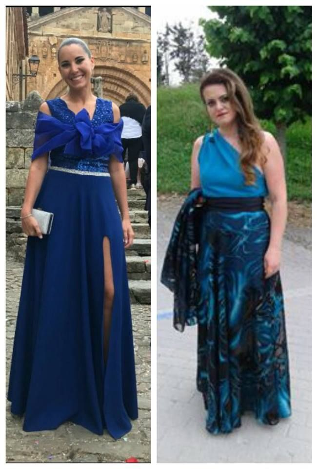 Arantxa Valle nos manda estos dos vestidos de boda confeccionados con nuestras telas de fiesta, además nos comenta que también realizó un traje de chaqueta con nuestro lino marco, ¡Gracias por compartir!