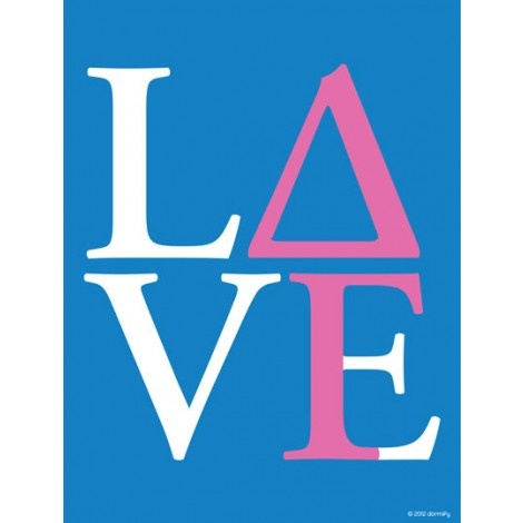 Delta Gamma Love Print
