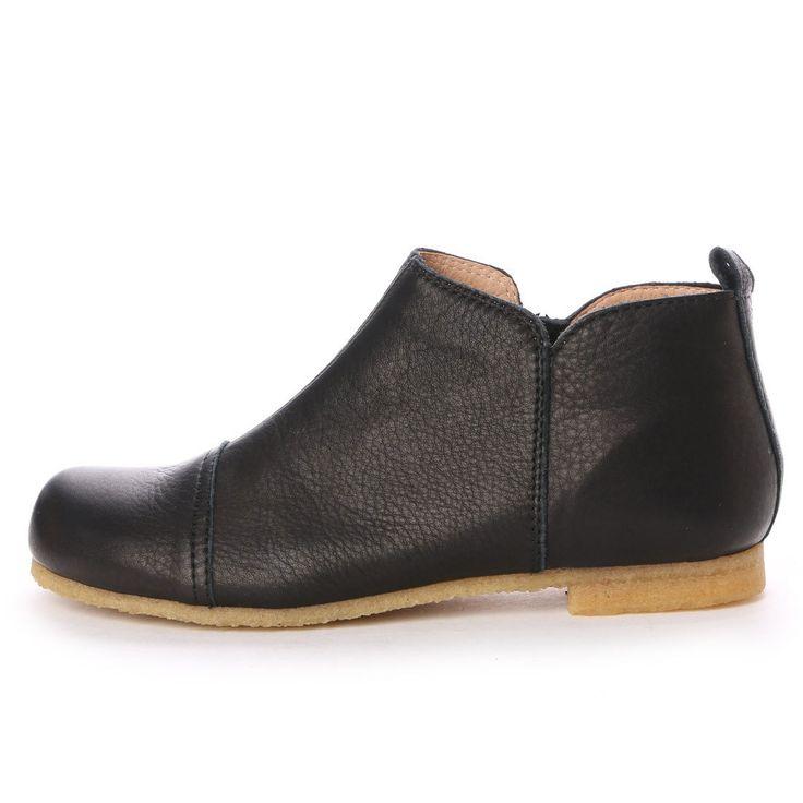 アシナガオジサン あしながおじさん カジュアルブーティー (ブラック) -靴とファッションの通販サイト ロコンド