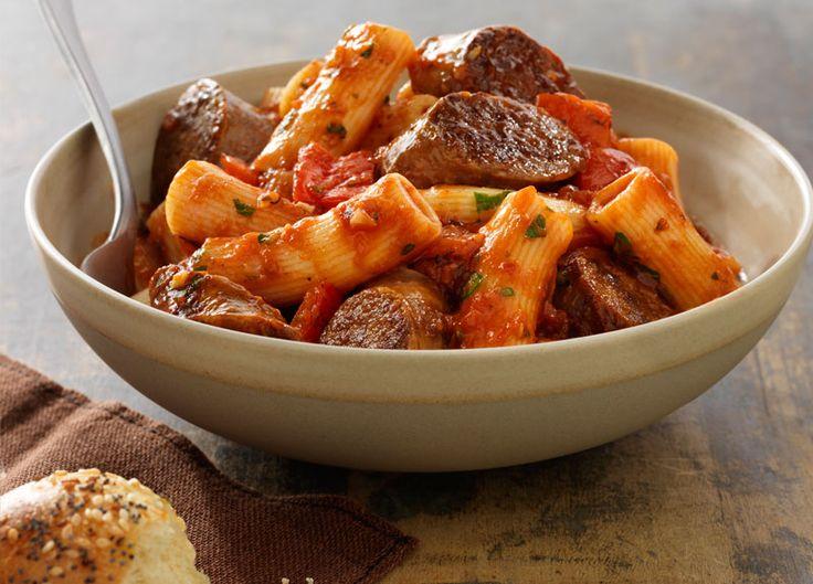 Italian Sausage Rigatoni - Johnsonville.com