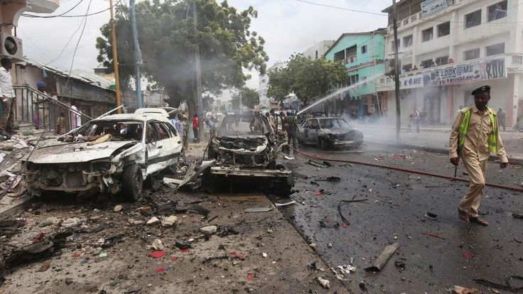 Al-Shabab fighters attack African Union convoy in southern Somalia, killing at least 8 | Fox News