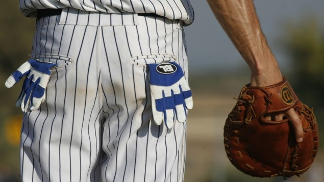 An Israeli Baseball League player in 2007 (photo credit: Nati Shohat/Flash90): Israeli Baseball, Baseball League, Brad Ausmus, Baseball Butts, Close Up Brad, 2007 Photo