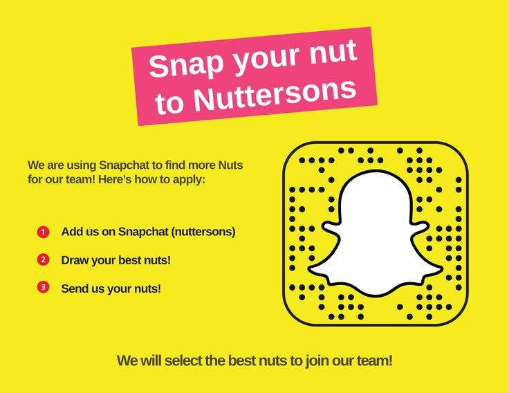 We now hire through Snapchat! If you are a Snapchatter and looking for new job opportunities,add us on Snapchat (nuttersons) and send us your Nut! #ShowUsYourNuts!