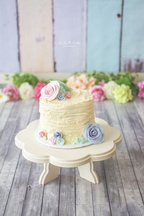 Okinawa Family Photographer, Cake Smash Session, Spring, Flowers, First Birthday, Child Photography, Okinawa, Japan, La La Noble Photography