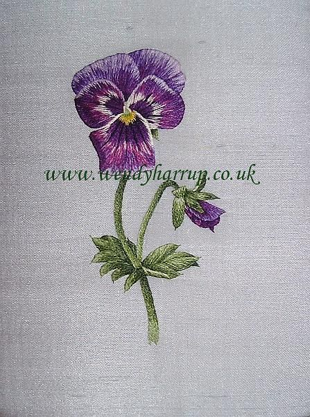 Best embroidery technique silk shading images on