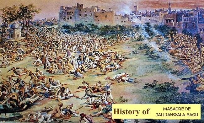 Complete article on Jallianwala Bagh Massacre with took place on 13 April 1919. This is very famous in Indian History.