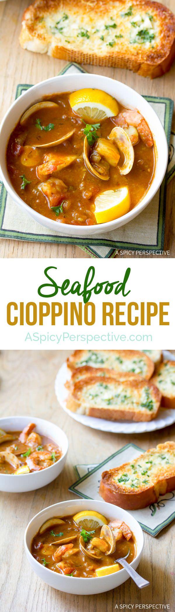 how to make cioppino sauce