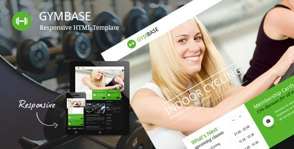 GymBase is a gym fitness HTML Template designed in a minimalist style. It has a responsive layout that looks great on mobile and tablet devices. The main point of focus is represented by home page slider which scales down automatically depending on your screen resolution. Tags: html template, aerobic, black, bodybuilding, boxing, crossfit, fitness, fitness center, gym, health, minimalistic, responsive, spa, sport, training, workout.