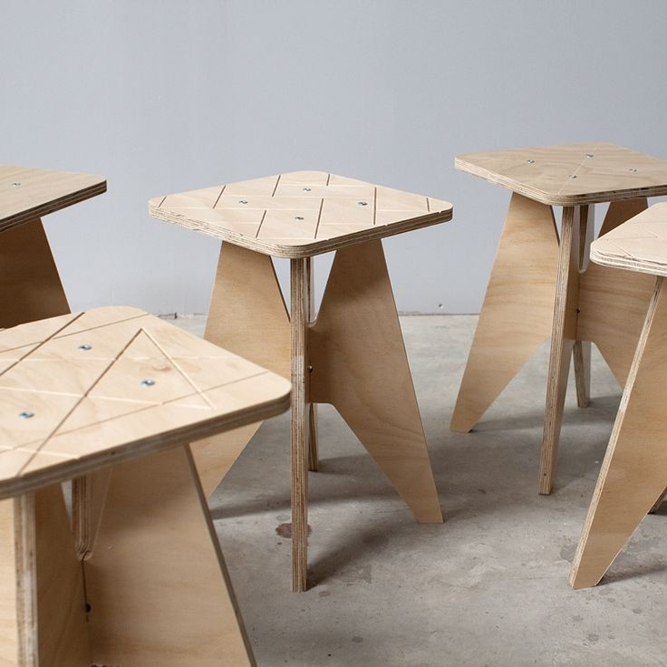 Jp Plywood Stool Hardtofind Furniture Design