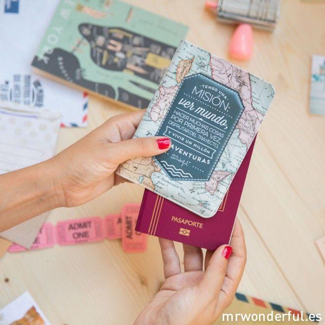 Funda para pasaporte – Tengo una misión
