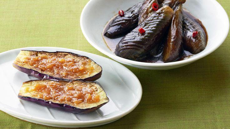 Nasu no Dengaku and Nimono (Sautéed eggplant with miso-sauce topping and simmered eggplant) | Let's Cook Japanese | NHK WORLD RADIO JAPAN