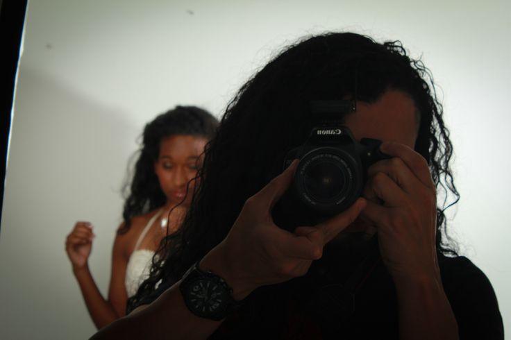 Detras de camaras sesion fotografica