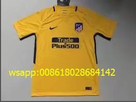 1718 Barcelona dos de distancia Capítulo S-4XL 17/18 Liverpool casa roja mujer S-L 1718 Arsenal lejos azul S-XL Versión tailandesa de la temporada 1718 de la camiseta de dos invitados del Real Madrid S-4XL Versión tailandesa de la temporada 1718 de la segunda camiseta de invitados S-4XL Camiseta tailandesa de 1718 temporada Atletico Home (sin La Liga) S-4XL Temporada 1718 versión tailandesa del Atlético de Madrid sin una camiseta amarilla S-4XL