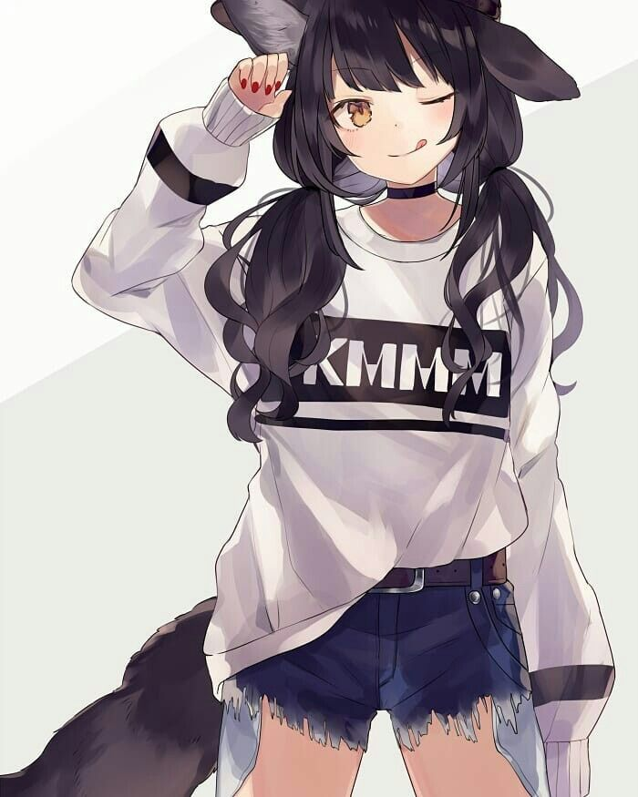 Black Haired Anime Girl Anime Anime Kawaii Anime Girl Kawaii Anime
