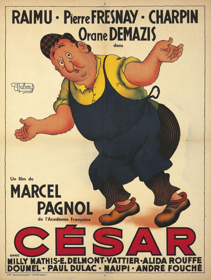 Cesar par Albert Dubout, Marcel Pagnol