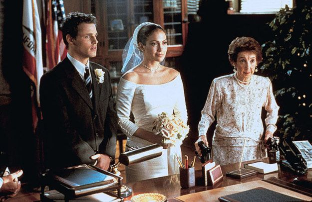 The Wedding Planner. (2001). | 48 Of The Most Memorable Wedding Dresses From The Movies