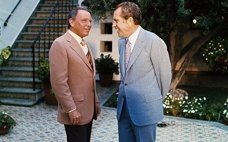 Frank Sinatra and Richard Nixon: Richard Nixon sought 'personal relationship' with Frank Sinatra