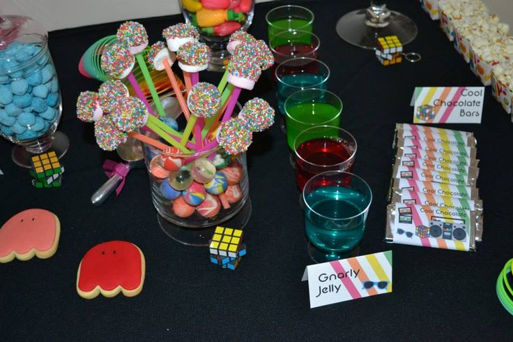 80 Birthday Party Decoration Ideas Of 37 Best Images About 80s Theme Birthday Party On Pinterest