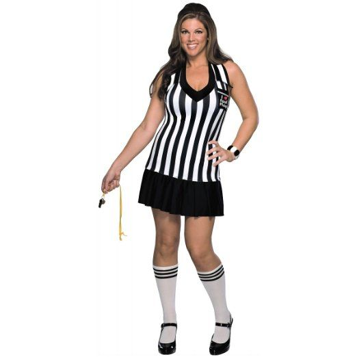 Women's Plus Size Sexy Foul Play Halloween Costume