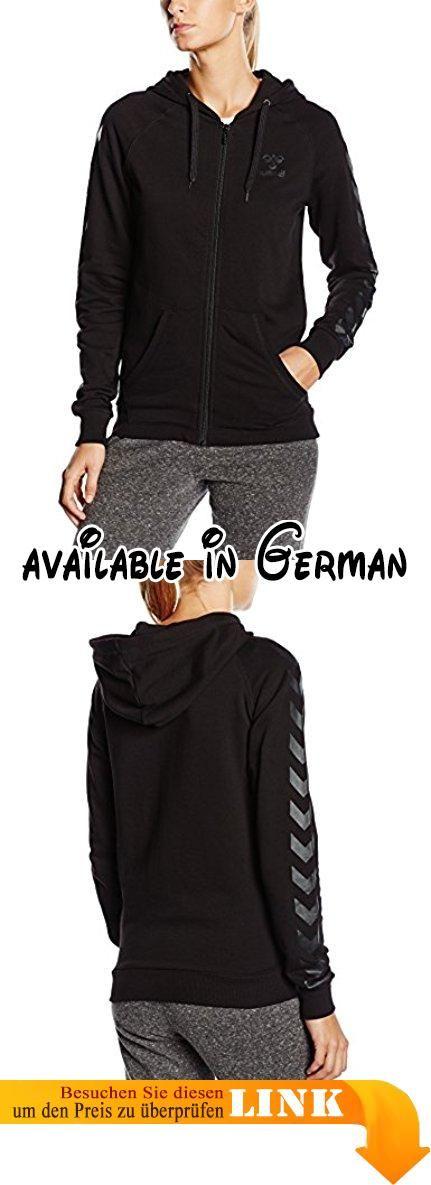 Hummel Damen Sweatshirt Classic Bee Womens Zip Hoodie, Black, S, 36-300-2042. Diese sportliche Sweatjacke ist super bequem.. Skandinavisches Design. Skandinavische Sportswear #Sports #SPORTING_GOODS