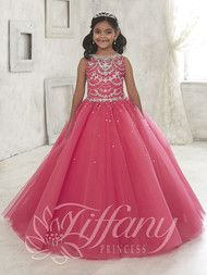 Beautiful Pageant Gown For Kids | Tiffany Princess Pageant Gown 13450