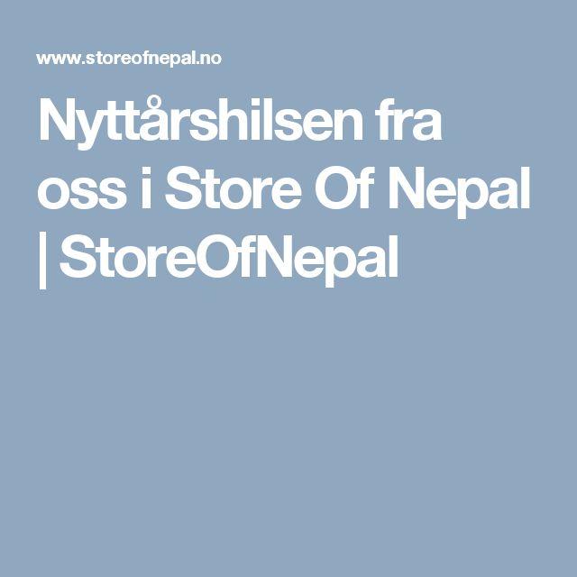 Nyttårshilsen fra oss i Store Of Nepal | StoreOfNepal