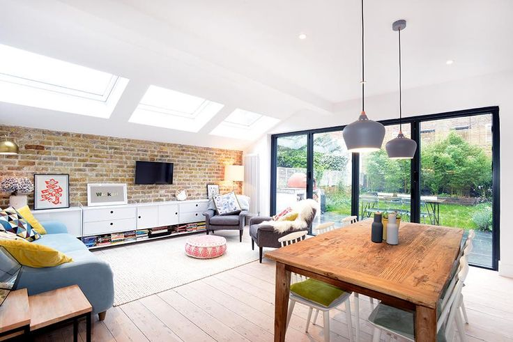 A mix of clever extension design and Scandinavian-style décor has resultedin a new light-filled living space for Emily and Angus Grierson