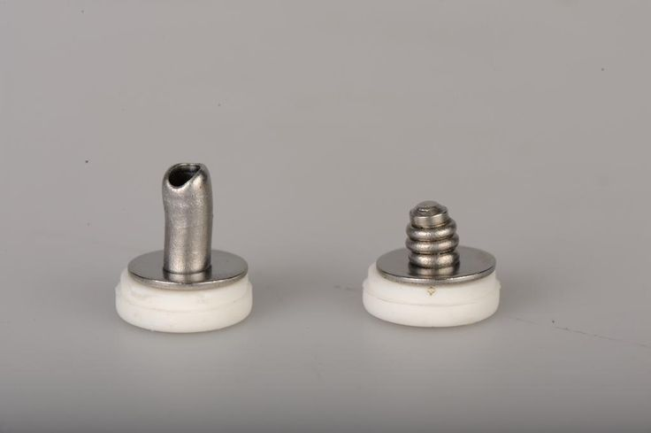 Tamper proof stainless steel rivets