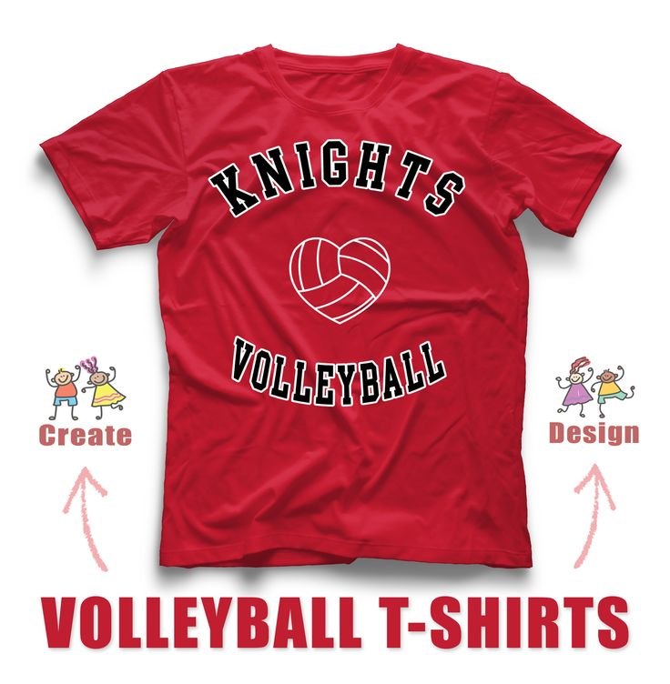 17 best images about volleyball t shirts on pinterest for Custom team t shirts