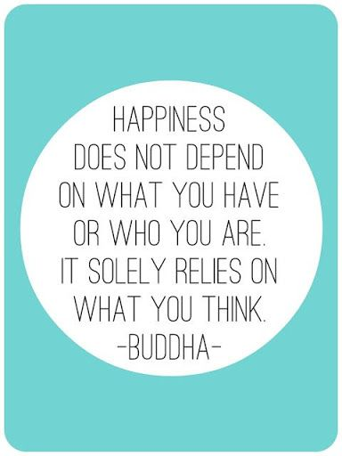 Happiness  it solely relies on what you think. #happiness #quotes #buddha ##powerthoughts #poweroftheuniverse #powerofthemind  #awareness #consciousness #innerpower #highermind #powerthoughtsmeditationclub