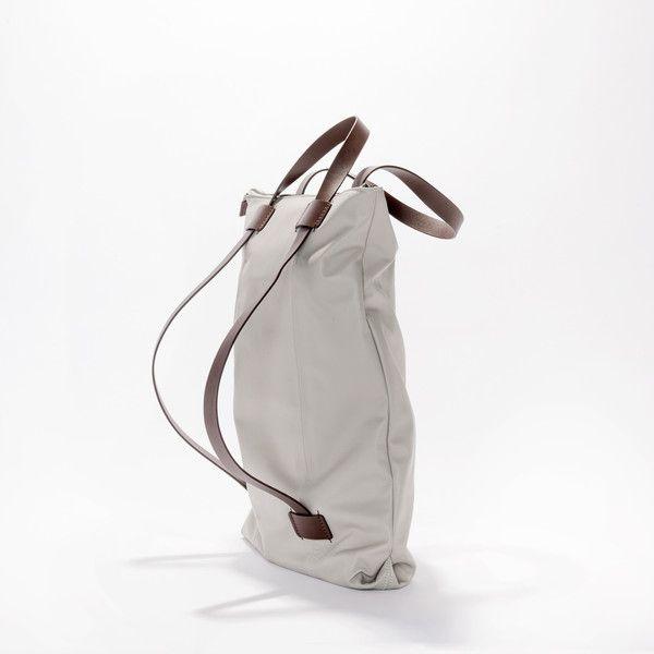 Wanderlust Backpack Bag Grey/Tan - Harlequin Belle