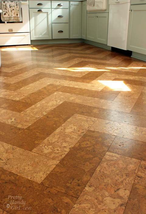 Pretty Cork Floor Soft Underfoot Warm Forgiving Tough Don T Cork Flooring Kitchenflooring Optionstile