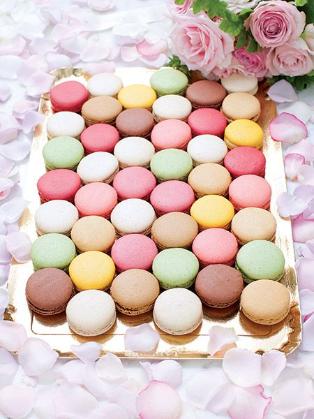 The edible wedding favor is tops for 2014 weddings — think truffles, petits fours or a tiny box of three perfect pastel macarons.