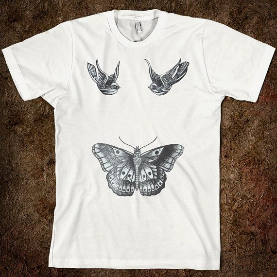 Harry Styles (One Direction) Tattoo Shirt on Etsy, $29.99 ...