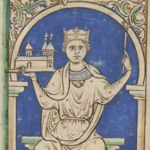 "Stephen of Blois was king of England from 1135 until his death in 1154.  His reign was characterized by an intractable civil conflict known as ""the Anarchy."""