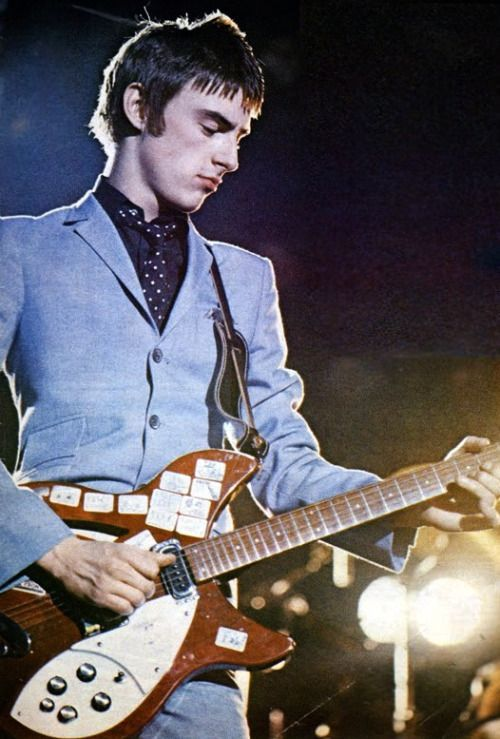 "thedandycapp: ""  Paul Weller, The Jam. """