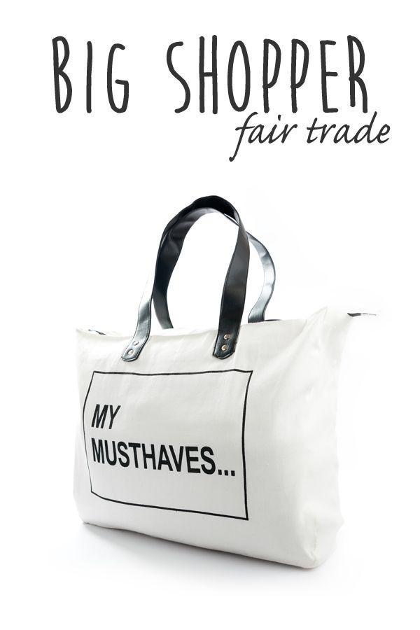 Limited Edition Big shopper My Musthaves te koop bij www.toefwonen.nl