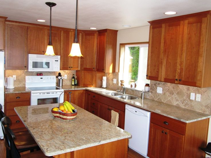 Ivory chiffon granite kitchen kitchen ideas pinterest for Ivory kitchen ideas