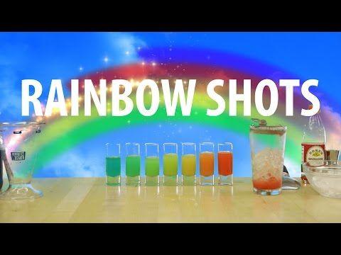 Rainbow. Shots.