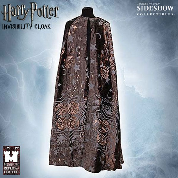 Cloak of Invisibility Apparel - Museum Replicas - SideshowCollectibles.com