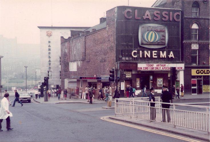 Classic Cinema, Fitzalan Square, Sheffield, May 1982  #RePin by AT Social Media Marketing - Pinterest Marketing Specialists ATSocialMedia.co.uk