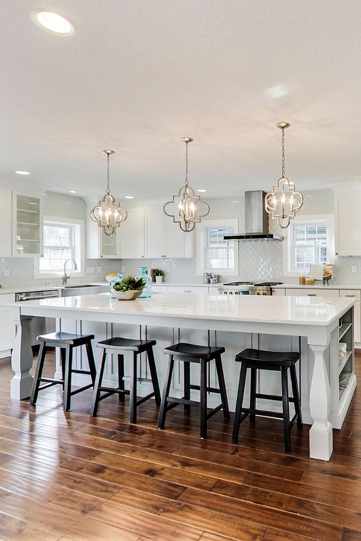 Stunning Pop The Top Home Addition Project Trubuild Construction Beautiful Kitchens Interior Design Kitchen Kitchen Island Lighting