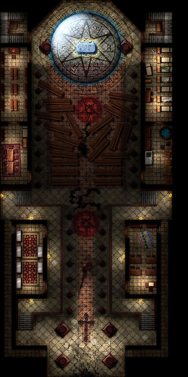 cathedral___rpg_map_by_tomasreichmann-d86nka3.jpg (632×1264)
