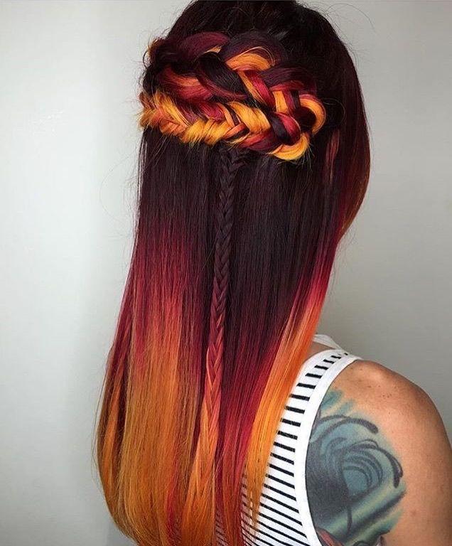 141 Best Trendy Haircolors Images On Pinterest Cabello De Colores
