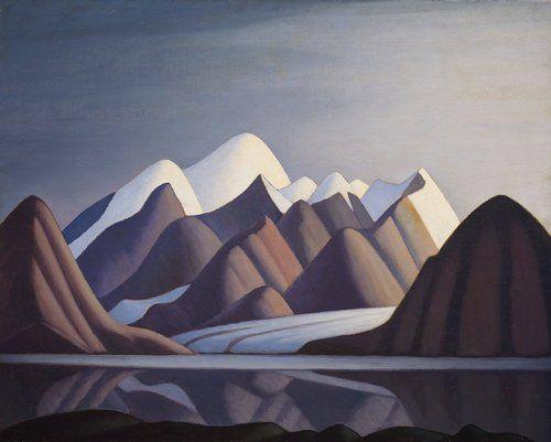 Lawren Harris (Canadian, 1885-1970), Mount Thule, Bylot Island, 1930.
