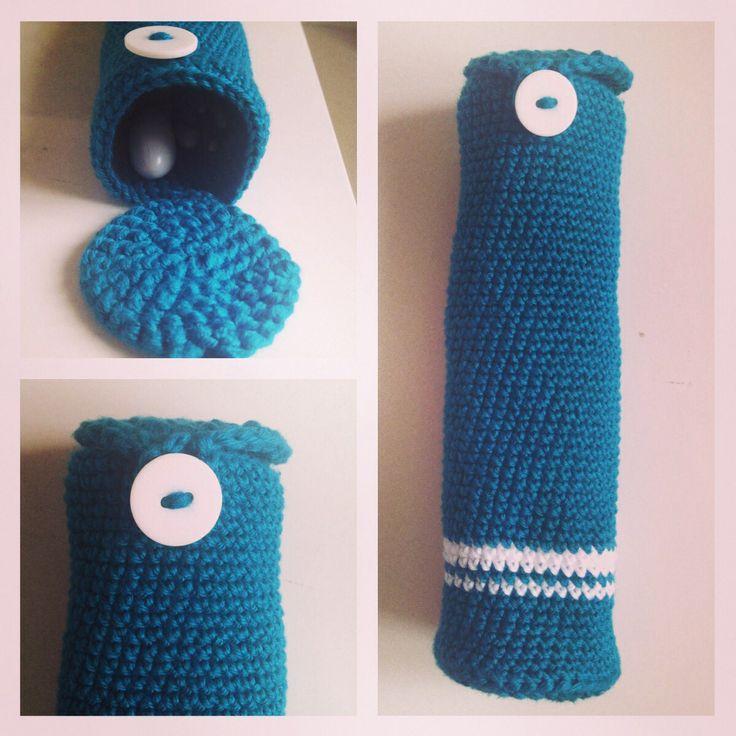 Crochet homemade (hækleetui)